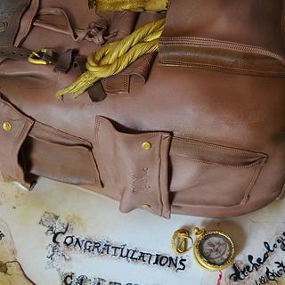 Graduation cake archeology