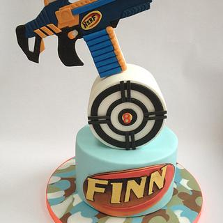 Nerf or nothin' Birthday cake for my son