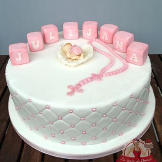Christening Cake for Julijana