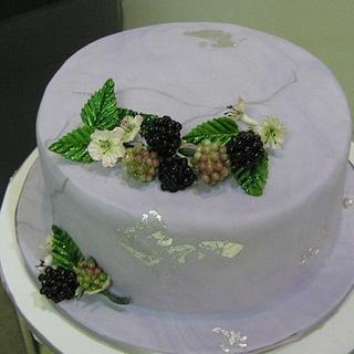 SUMMER BLACKBERRIES CAKE