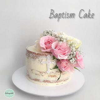 Torta Bautizo Medellín