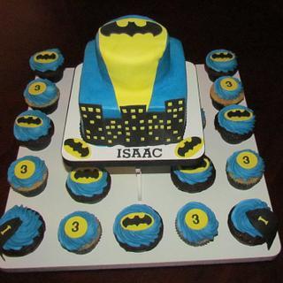 Batman - Cake by Jaybugs_Sweet_Shop