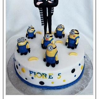 My Minion cake with Gru