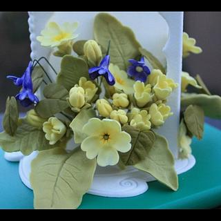 Spring flowers - Cake by Nonahomemadecakes