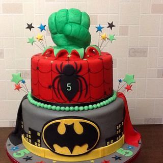 Superhero cake - Cake by Berns cakes