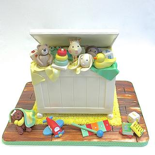 Toy Chest Cake