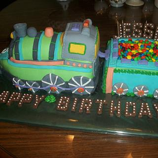 Train cake Enchanted Cakes - Cake by Sher