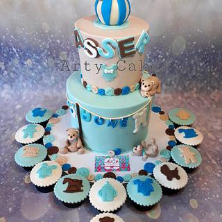 Bears cake by Arty cakes