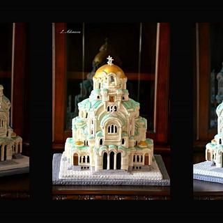 """Bulgarian Cake Collaboration""-Subject: St. Aleksandar Nevsky Cathedral"