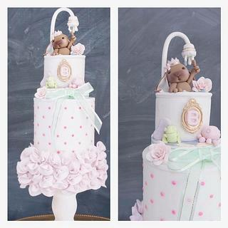 Baby Shower Cake / Its a girl!