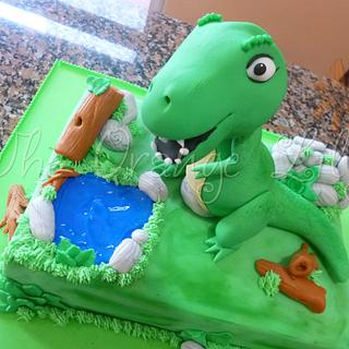 T-Rex - Cake by TheOrangeLily
