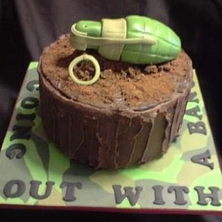 Farewell cake..