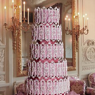 High Tea Romance - Cake by The Beverley Way Collection, Beverley Way Designs USA