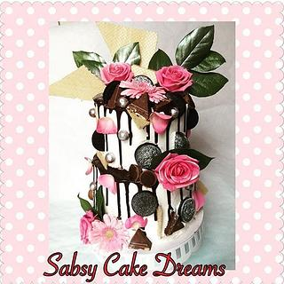 Chocolate drip cake - Cake by Sabsy Cake Dreams