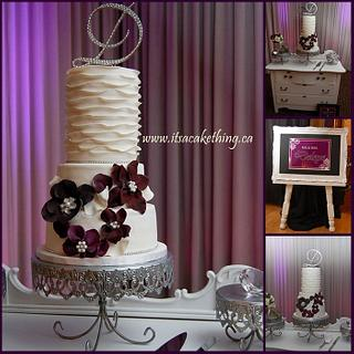 Ruffles & Flowers Wedding