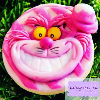 Cheshire cat cookie
