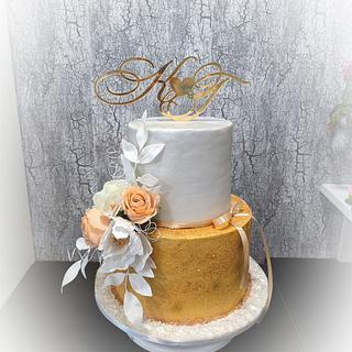 Wedding cake  - Cake by Tsanko Yurukov