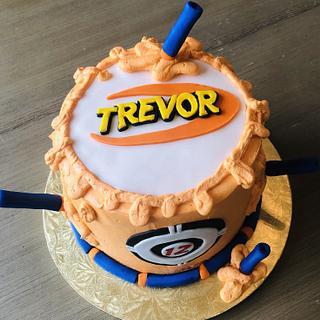 Nerf Birthday Cake - Cake by MerMade