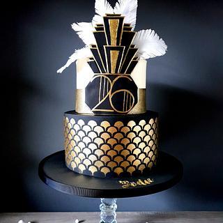 Gatsby cake - Cake by Radoslava Kirilova (Radiki's Cakes)