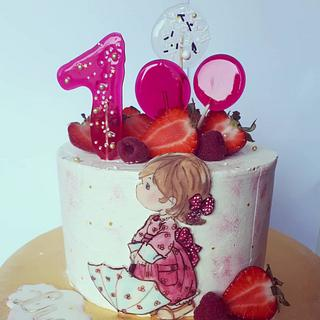 Little girl - Cake by Sweet Days by Silvia