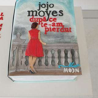 Jojo Moyes book - Cake by Torturi Mary