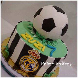 Soccer cake ⚽️⚽️⚽️