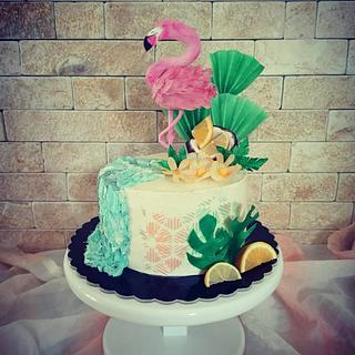 Hawaii cake  - Cake by Cakes_bytea