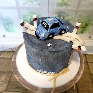 Car cake:) - Cake by SojkineTorty
