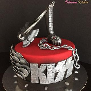 KISS  - Cake by Emily's Bakery