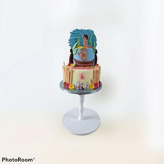 Little Moana - Cake by Cake Rotterdam