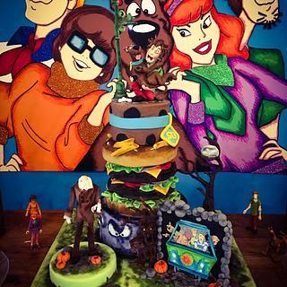 Scooby-doo - Cake by Natascha Bogoiavlensky