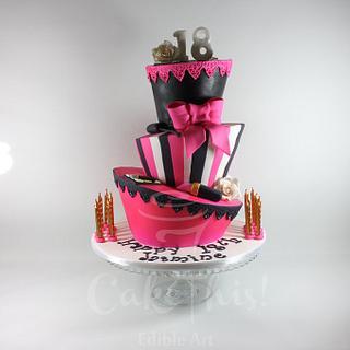 Mad Hatter 18th Birthday Cake
