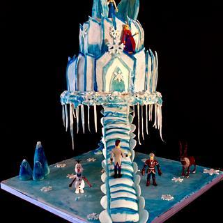 Frozen gravity cake