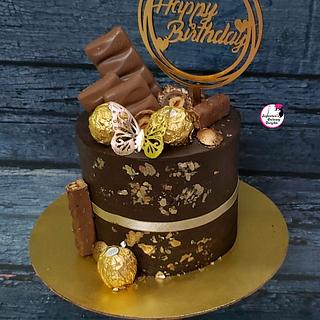Belgium Chocolate Ecstasy  - Cake by Sayantanis Culinary Delight