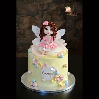 Fairy cake :) - Cake by Julie's Sweet Cakes