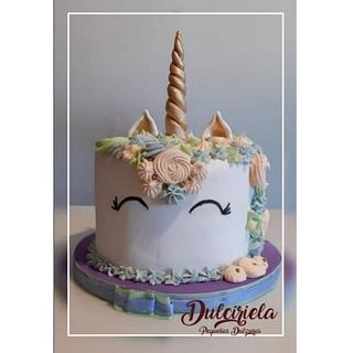 TORTA UNICORNIO - Cake by Gisela Gañan