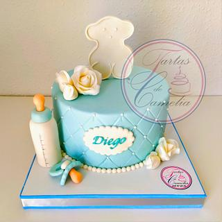 TARTA BABY SHOWER-TOUS