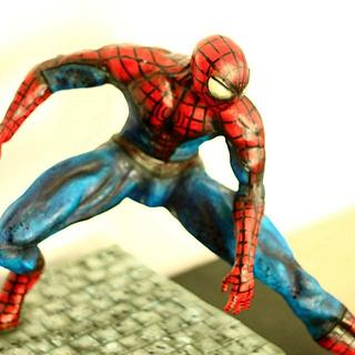 The Amazing Spider-man cake