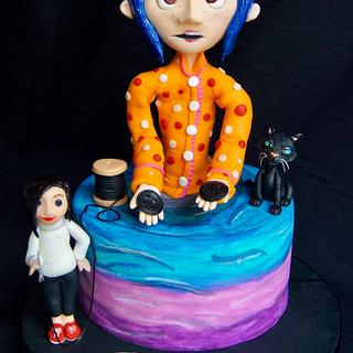 Cakeflix collaboration  CORALINE