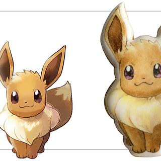 How to Draw Pokemon Eevee! EP.65