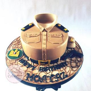 Egyptian Army First-Lieutenant Cake🇪🇬 - Cake by Hend Taha-HODZI CAKES
