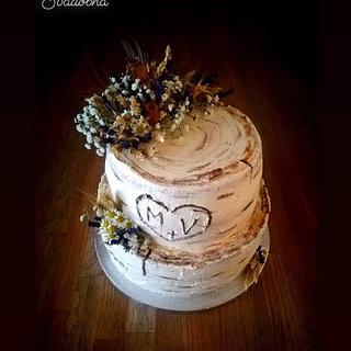 Svadobná torta - Cake by ANDREA