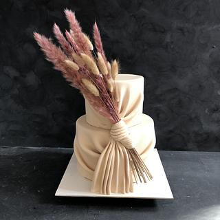 Engagement cake - Cake by miracles_ensucre