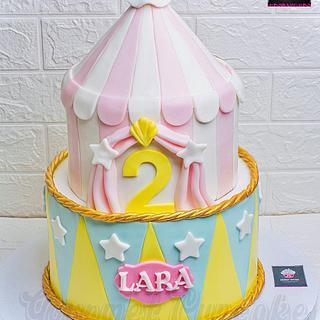 Circus cake  - Cake by Gourmet Cupcake