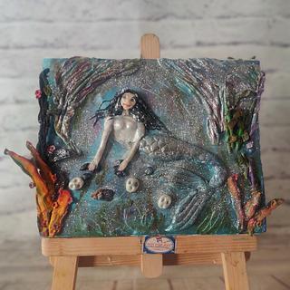 Dark Mermaid - Cake by Dr RB.Sudha