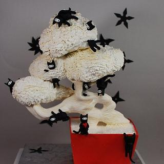 Bonsai Cats Threadcakes Entry