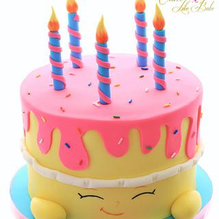 Shopkins cake - Cake by Tracey