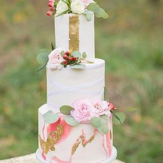 Marble Cake - Cake by Deva Williamson