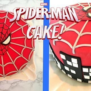 SPIDER-MAN CAKE!