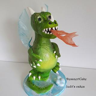 Dragon cake - Cake by Judit